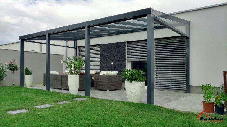 Top class – aluminium pergola