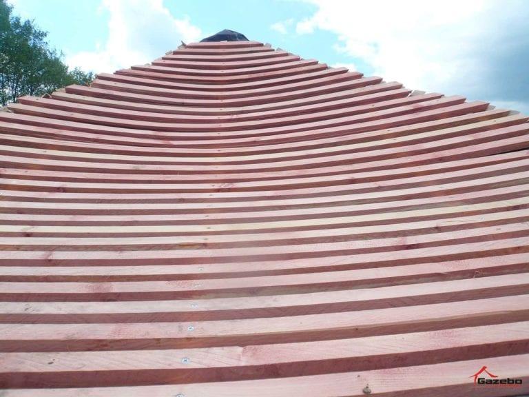 Stavba japonskeho altanku
